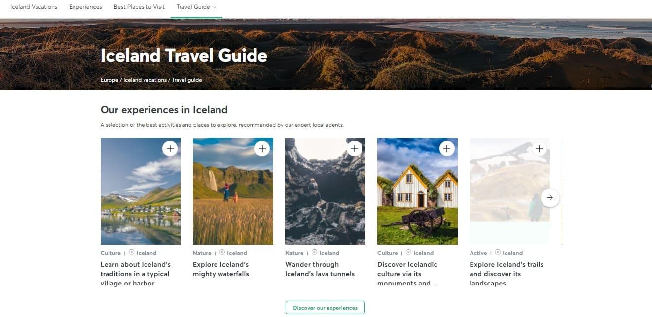 Evaneos Iceland destination travel guide.