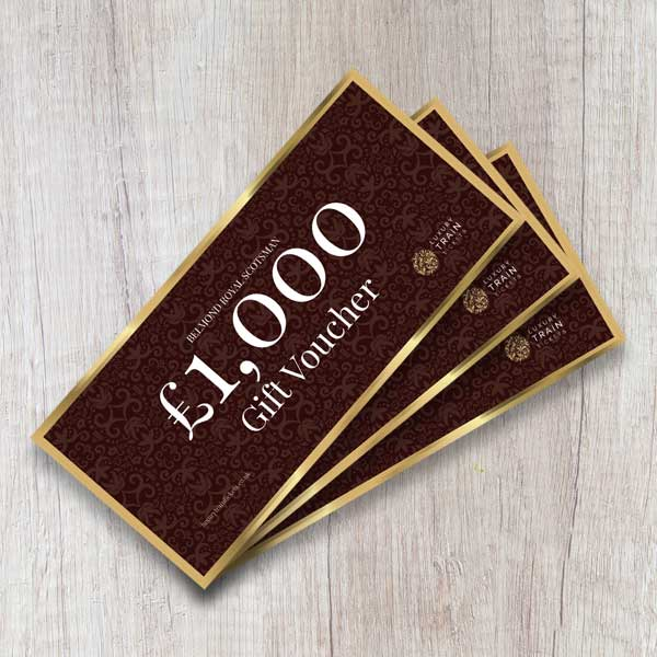 Royal Scotsman gift vouchers
