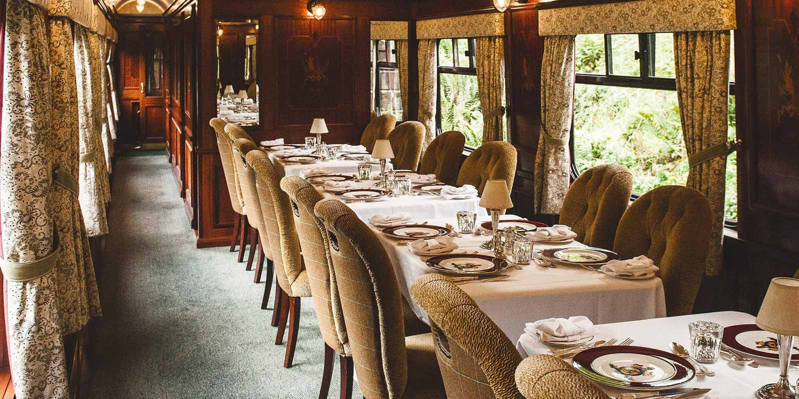 Grand Tour of Britain Luxury Train Journey