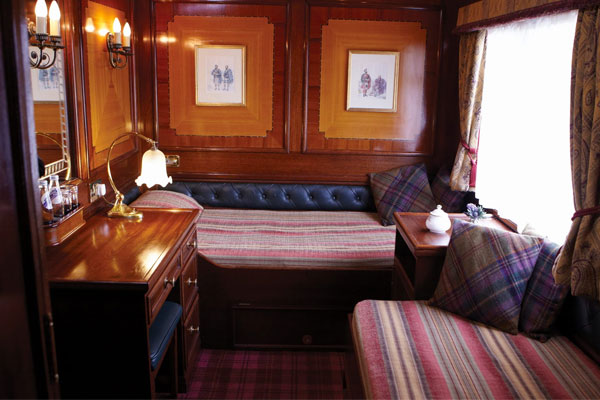 Belmond Royal Scotsman Twin Cabin