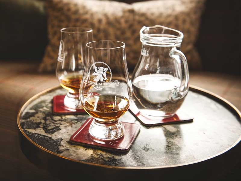 Belmond Royal Scotsman Whisky