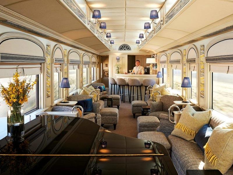 Belmond Andean Explore Lounge Cars