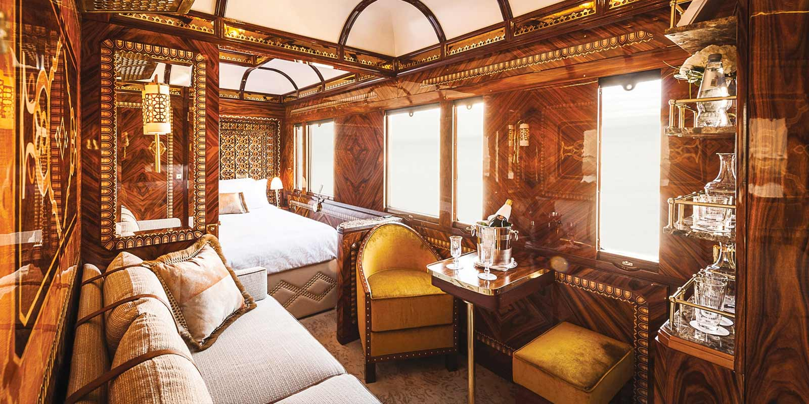 Luxury Train Accommodation