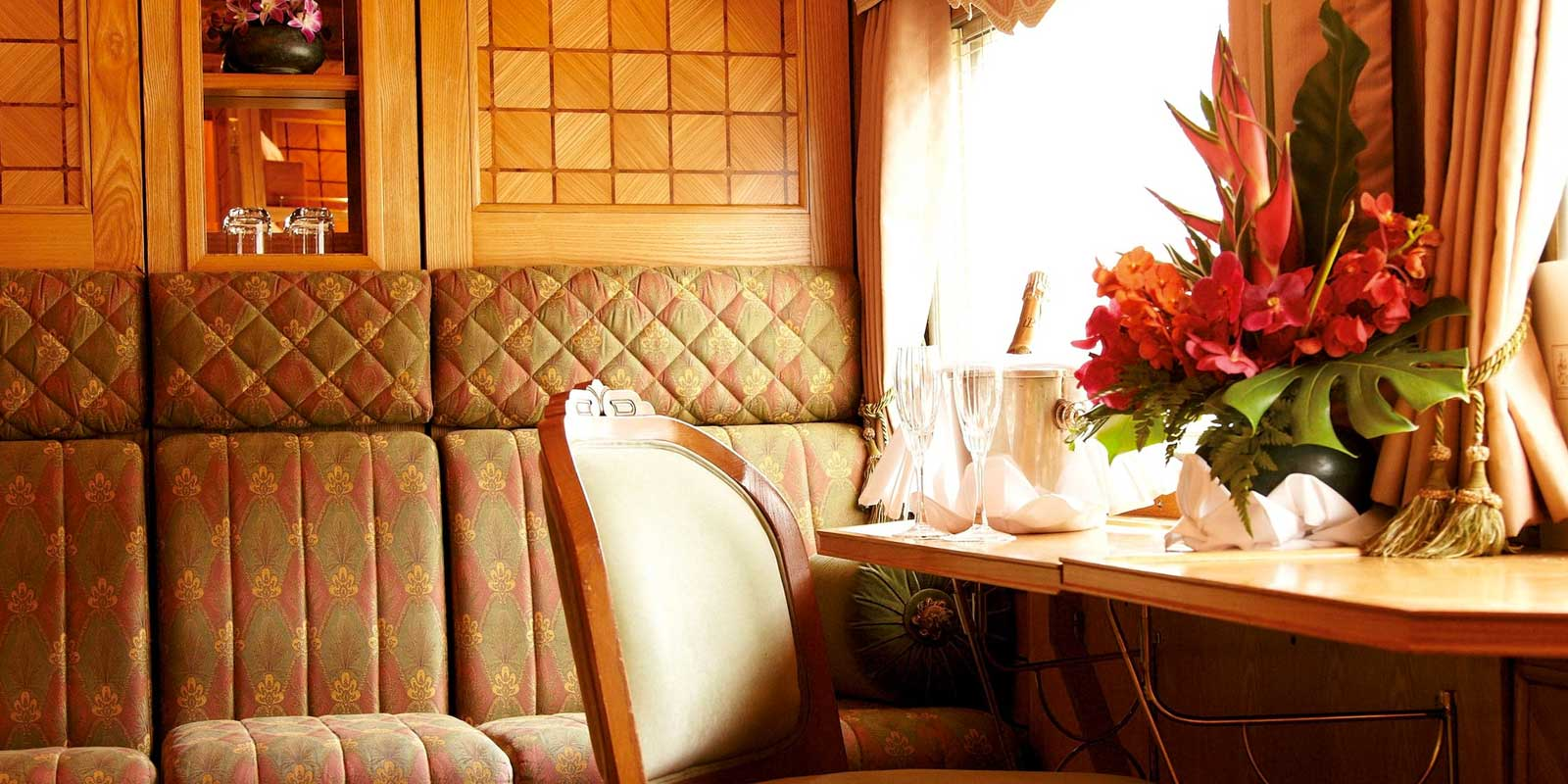 Belmond Eastern Oriental Express Cabin