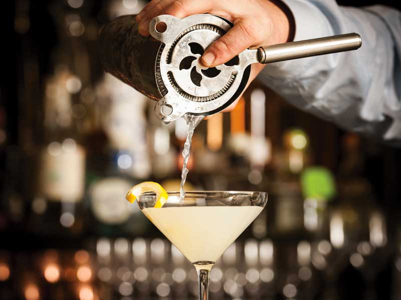 Belmond Hiram Bingham Cocktails