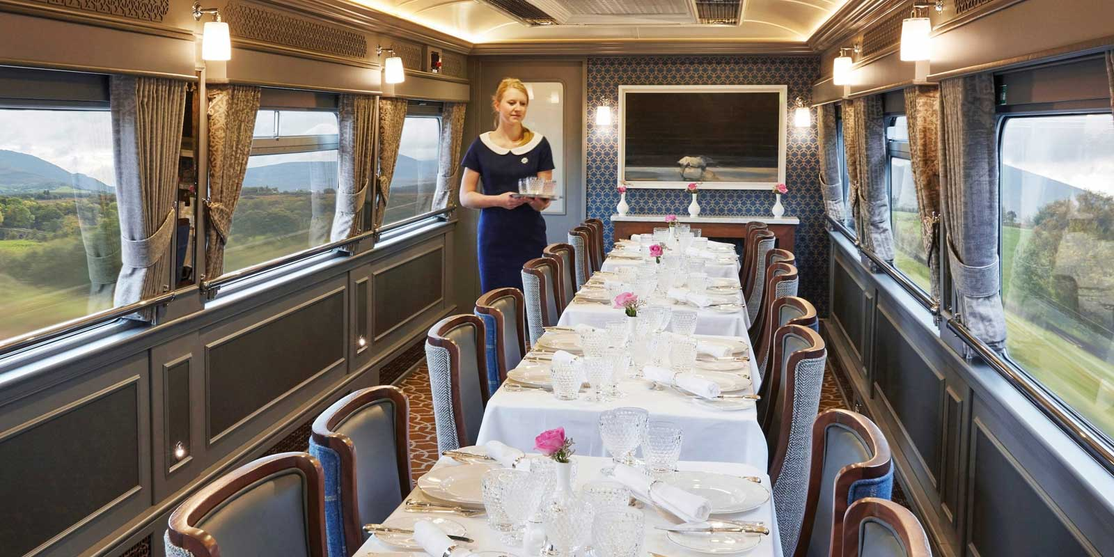 Belmond Grand Hibernian Dining Carriage
