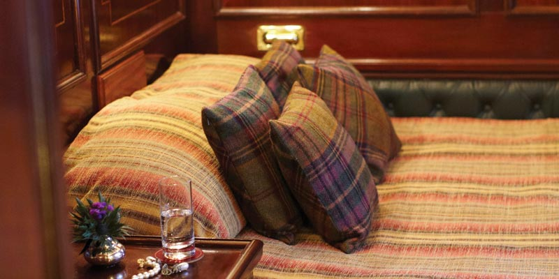 Belmond Royal Scotsman Double Cabin