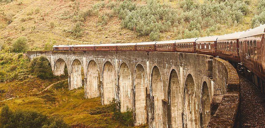 Train Holidays Scotland