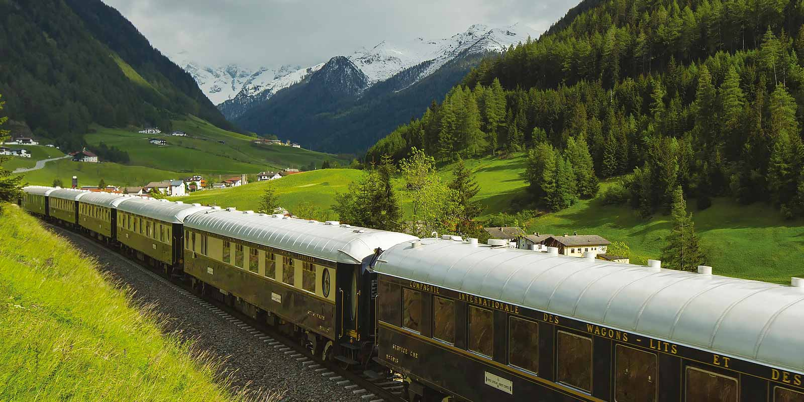 Train Holidays Europe