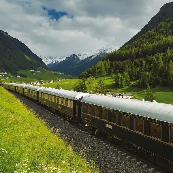 Train Holidays Europe