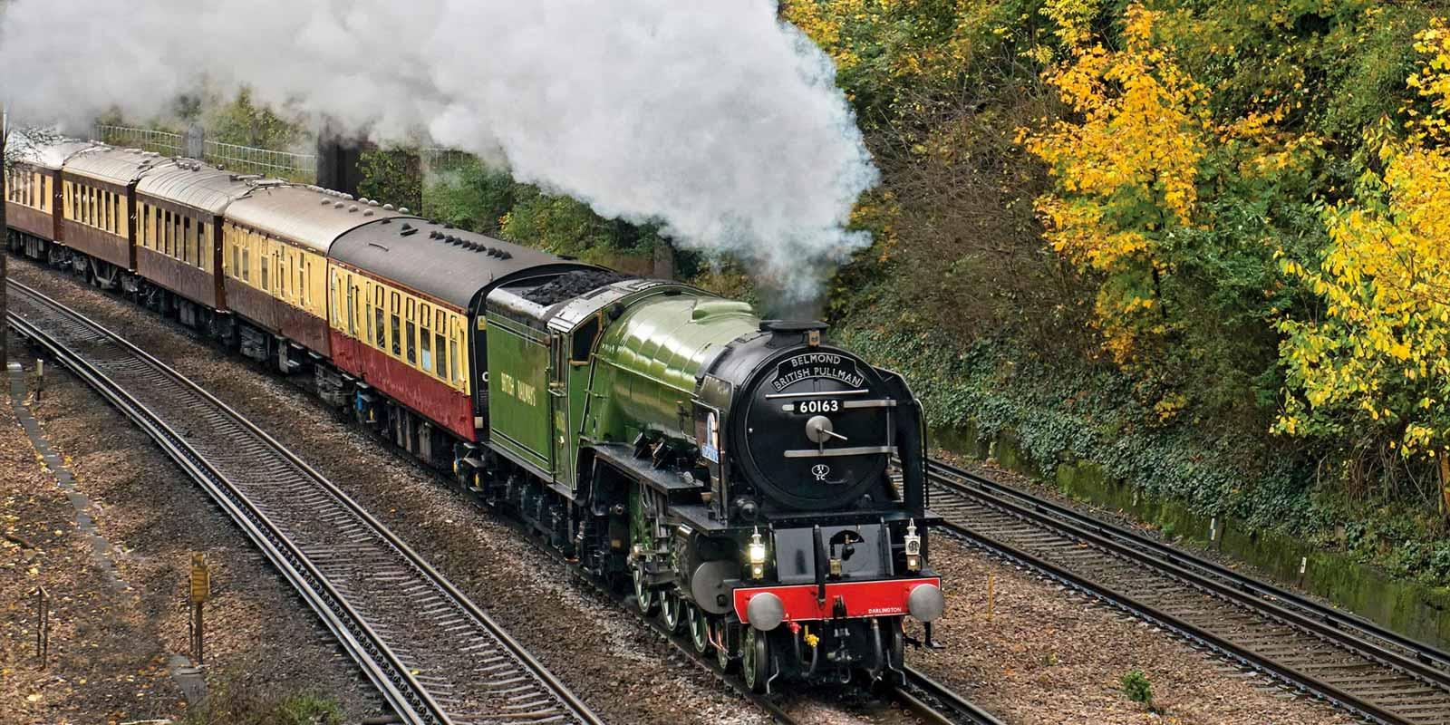 Christmas Luxury Train Journeys