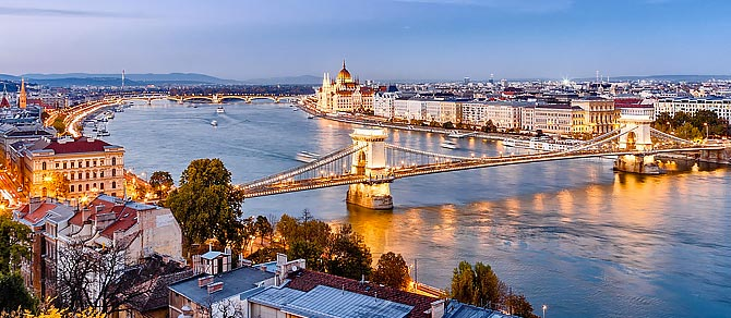 Venice Simplon Orient Express Budapest to London