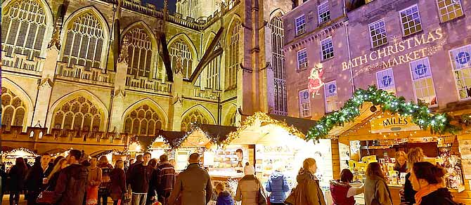 British Pullman Bath Christmas Market