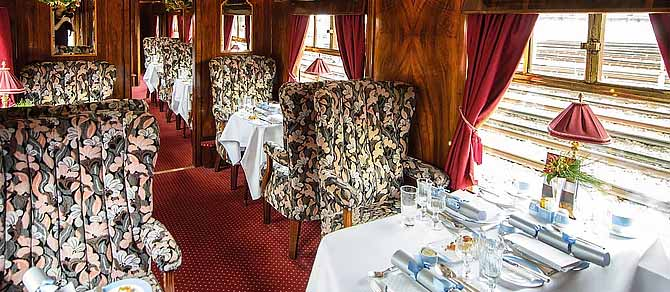 Belmond British Pullman Christmas Lunch