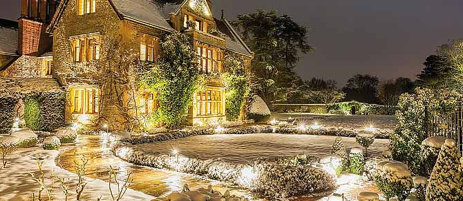 Belmond Le Manoir at Christmas