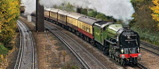 Belmond British Pullman Christmas Lunch by Steam