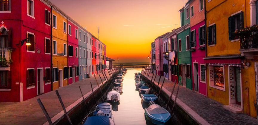 Burano Island Venice