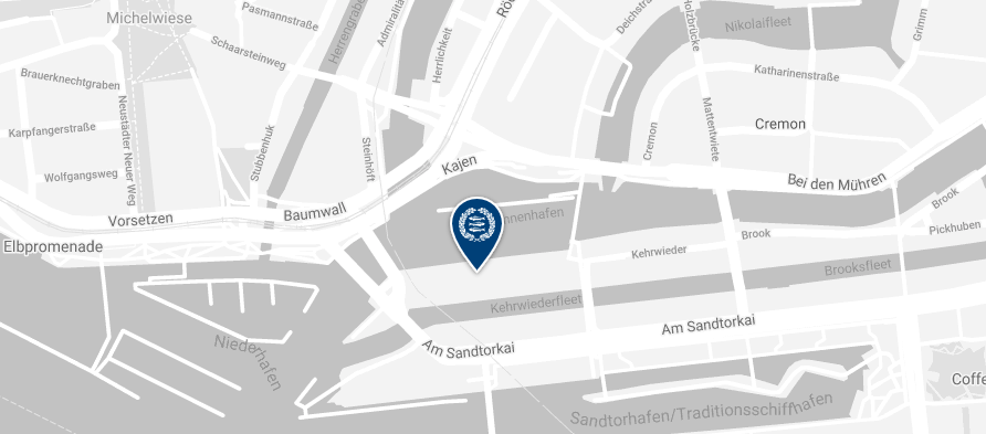 Jebsen & Jessen Standort in Hamburg