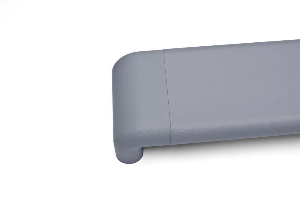 Wallprotex's wX7 flat handrail in gray