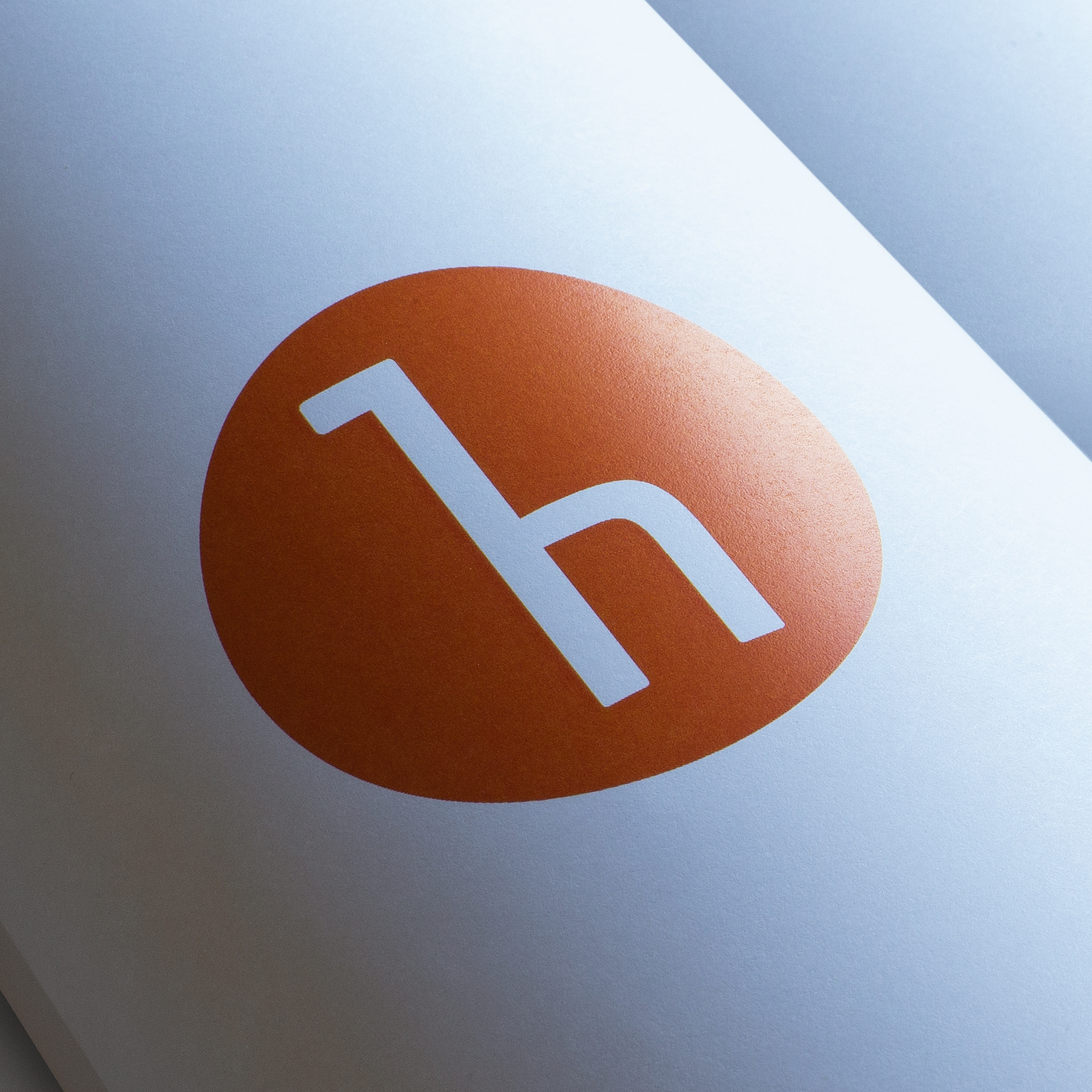 Highview logo printed on material