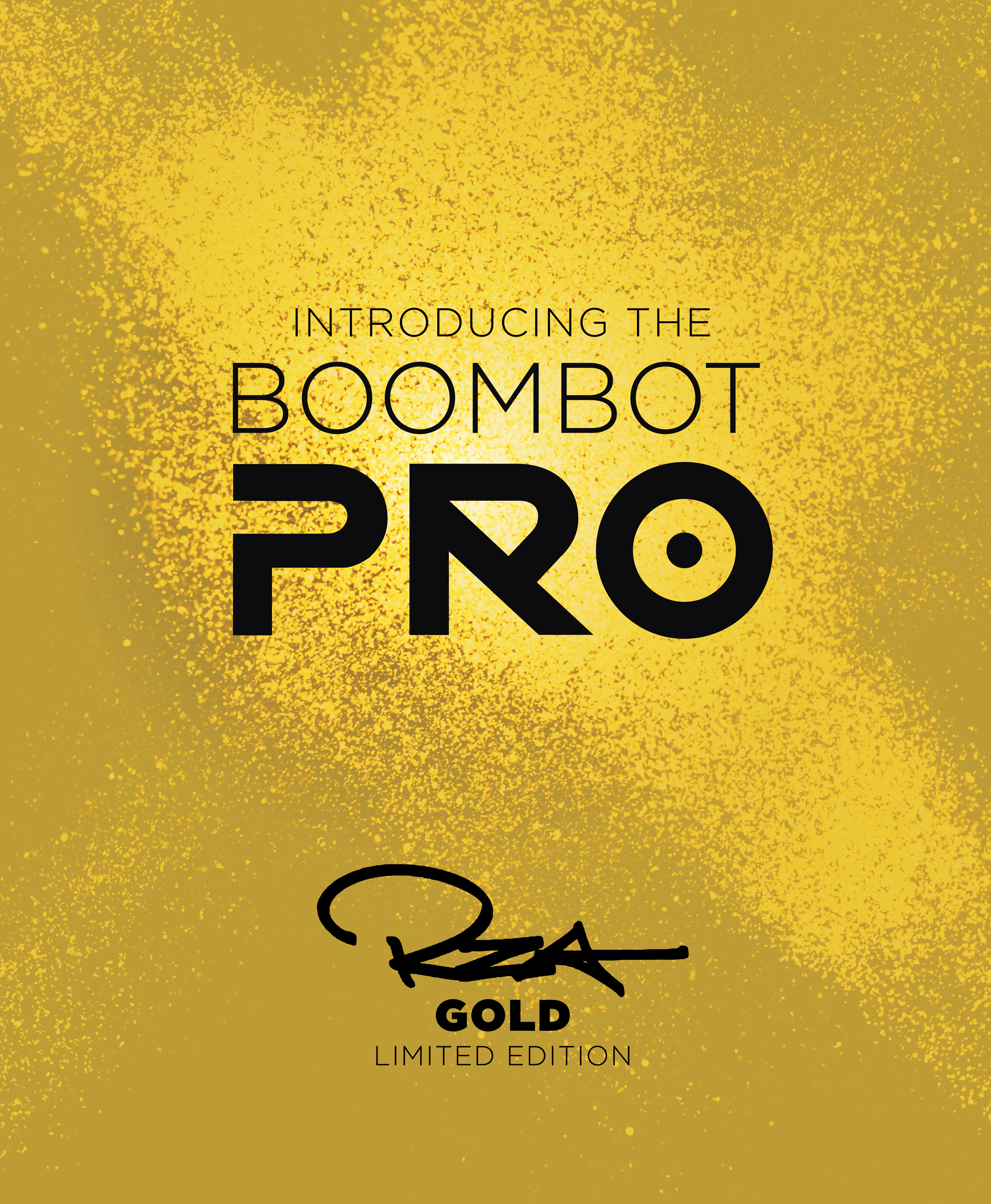 Boombotix speaker ad for RZA Gold addition