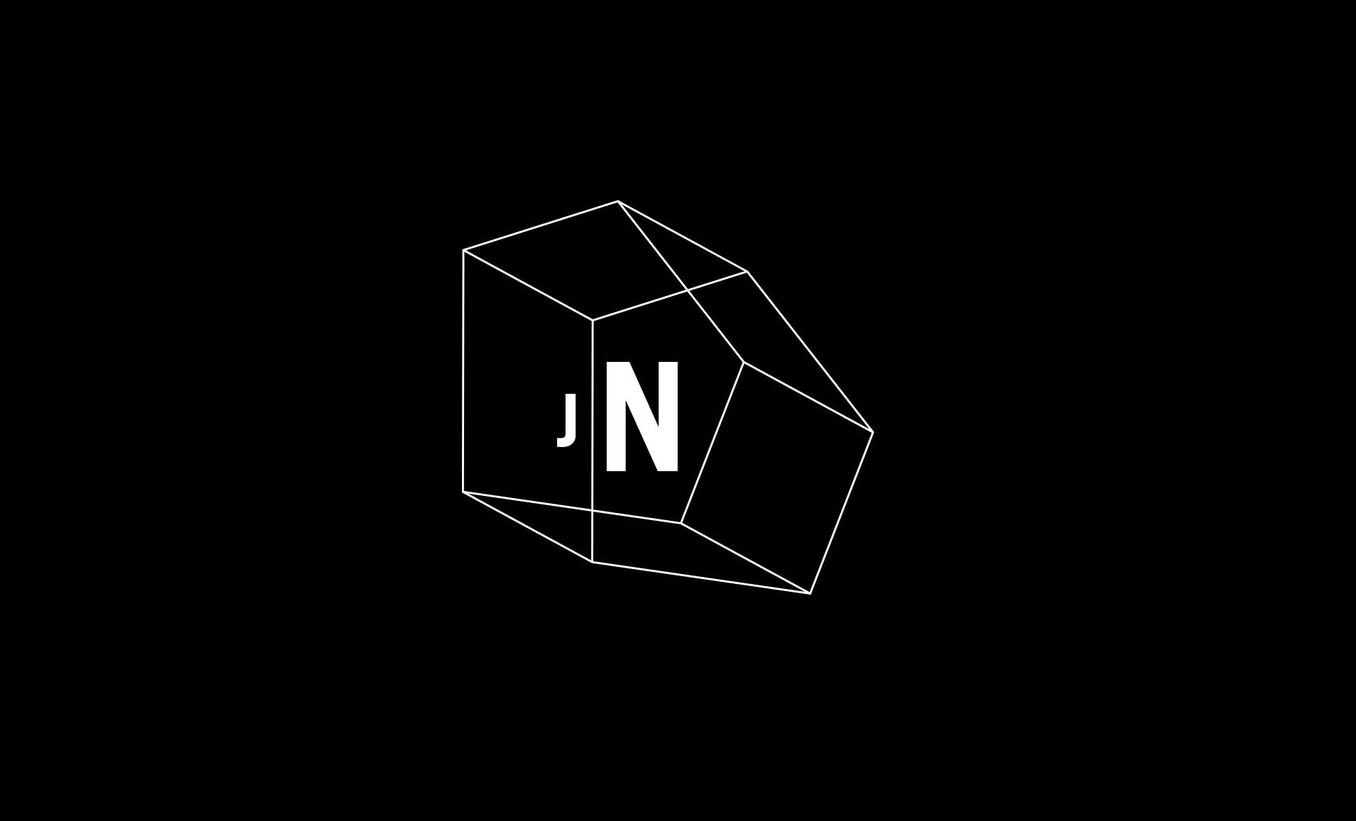 Geometric line logo for Jefferey Newbury