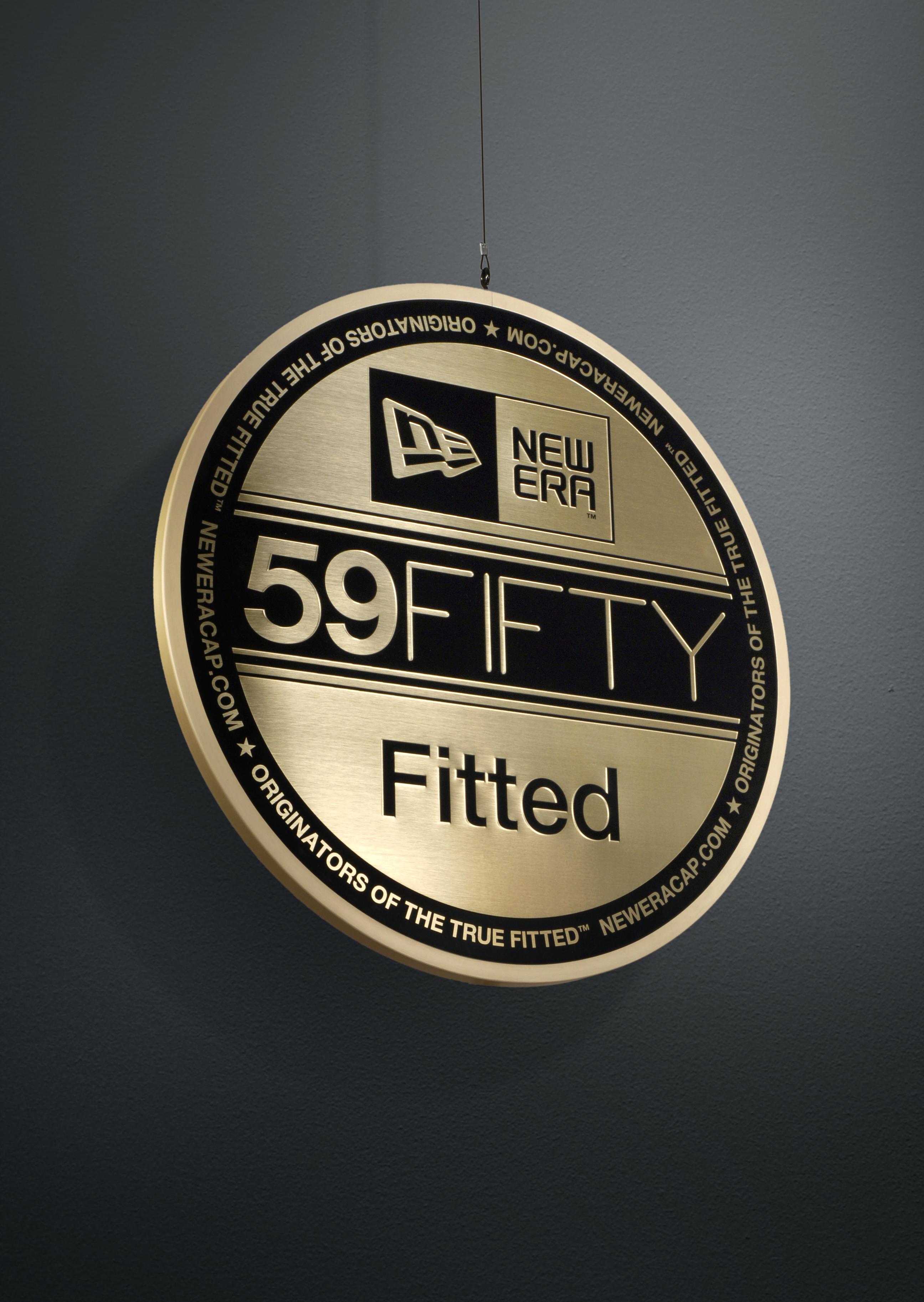 Large hanging 59fifty new era emblem