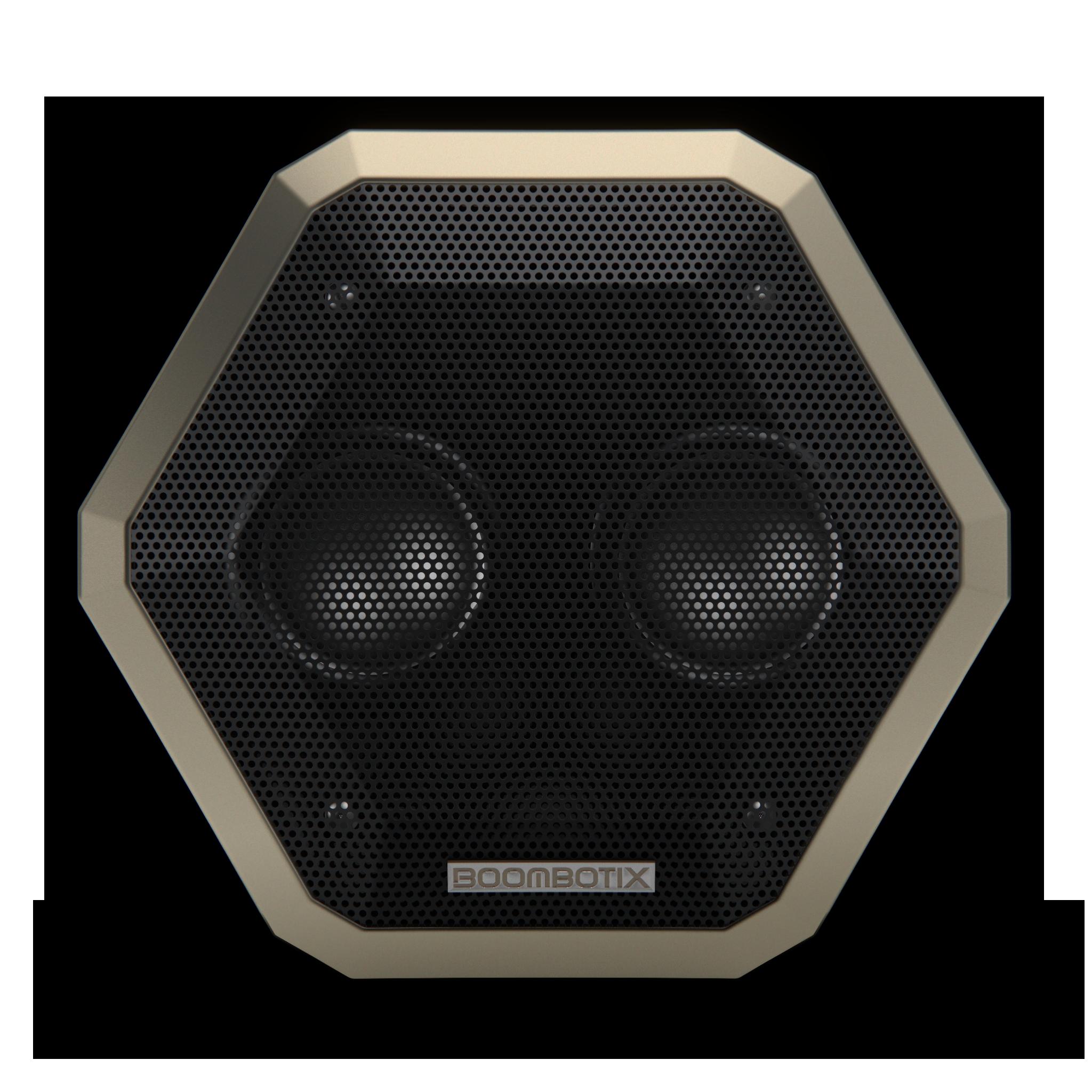 Boombotix speaker detailed face of speaker