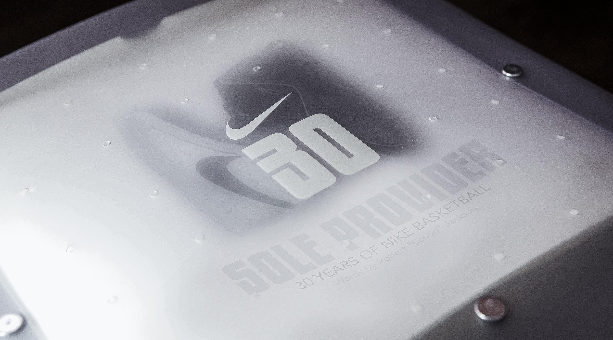 Nike sole provider book cover