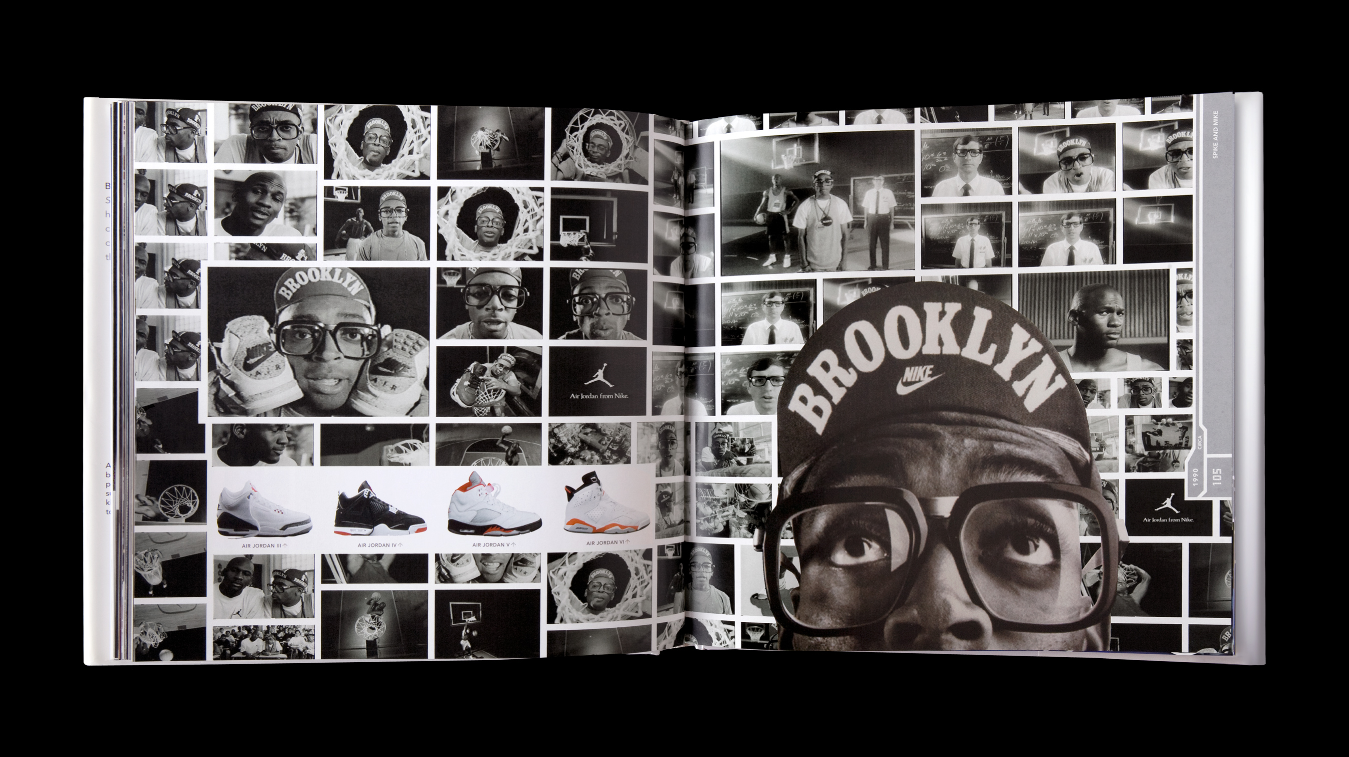 Nike sole provider spike lee profile image and shoe spread