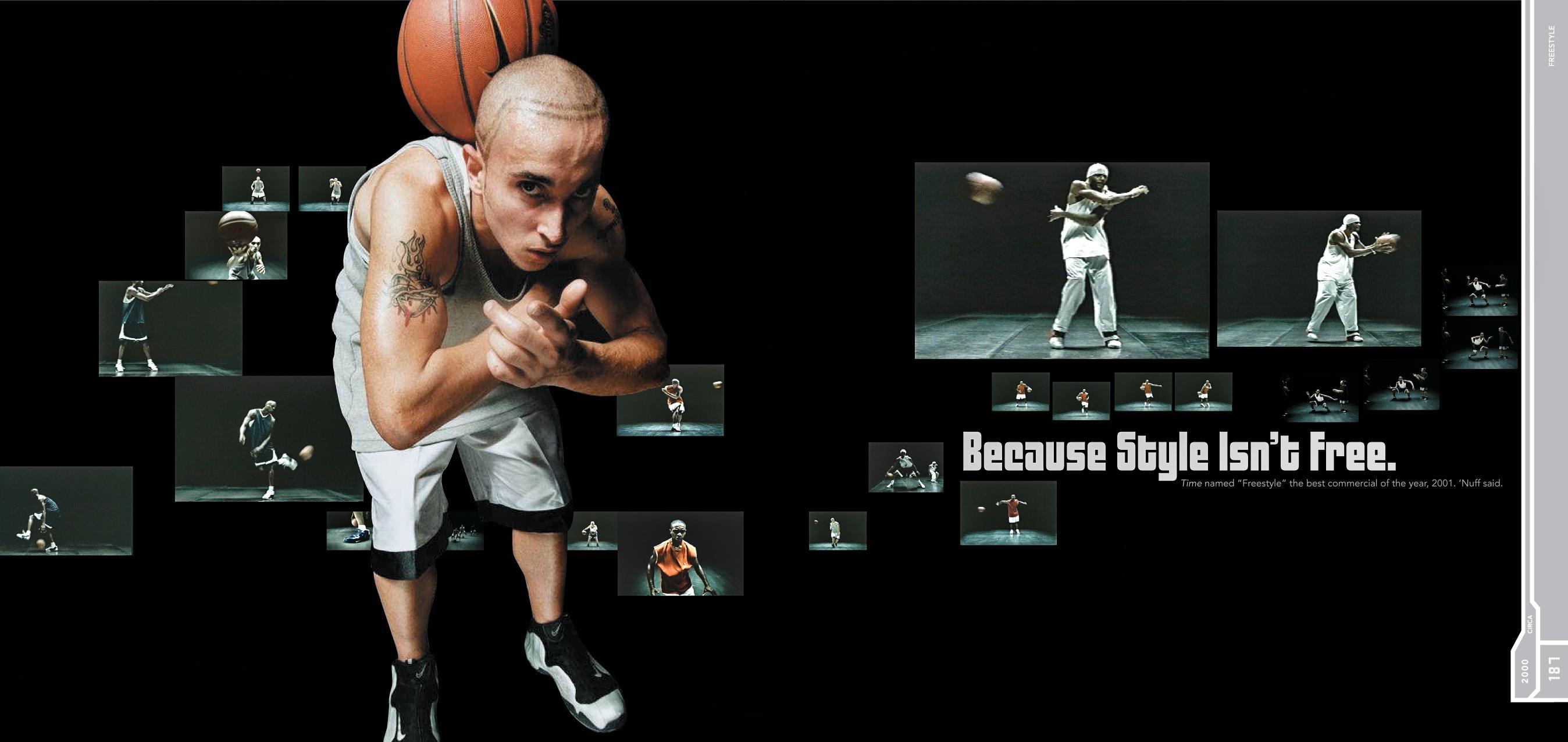 Nike sole provider spread