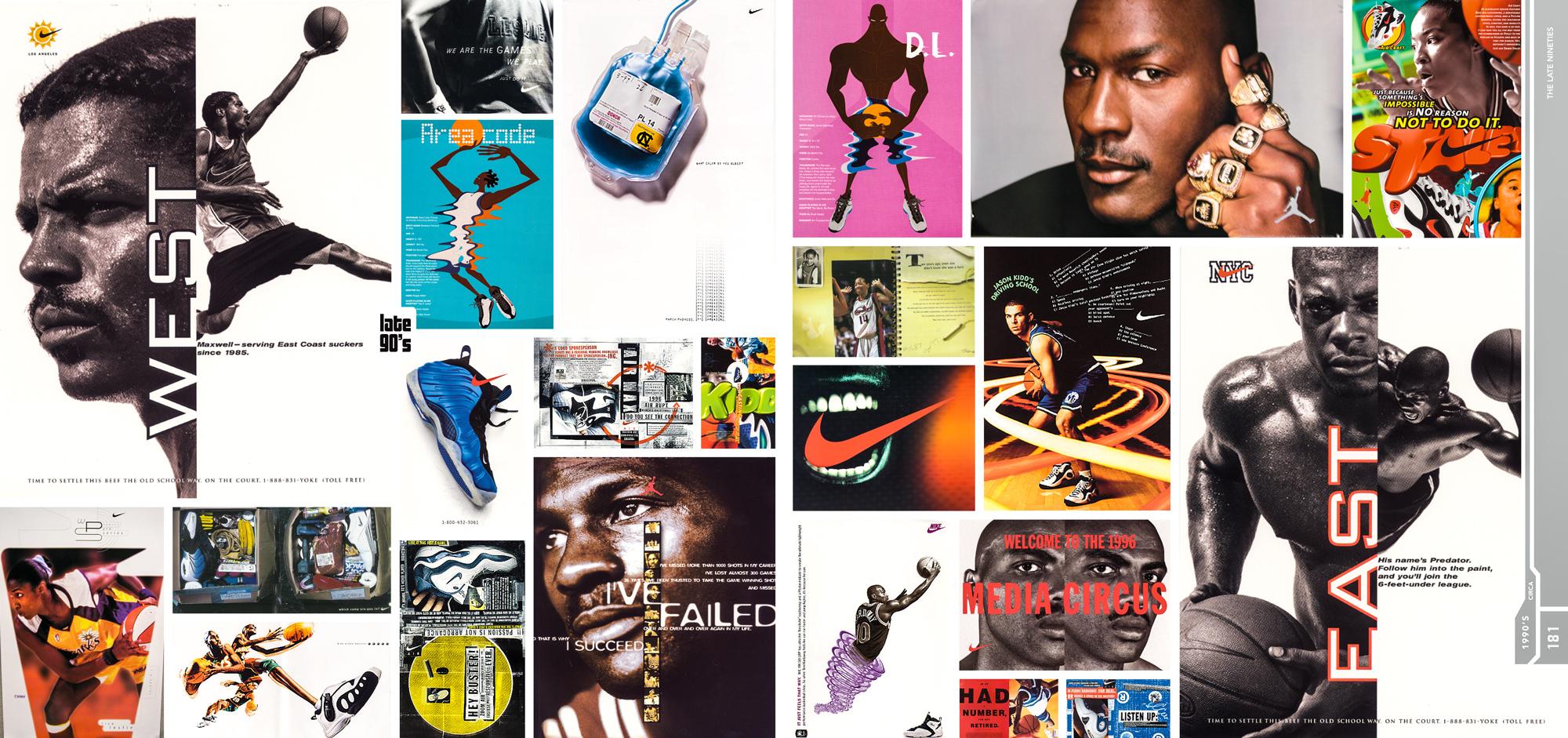 Nike sole provider book spread