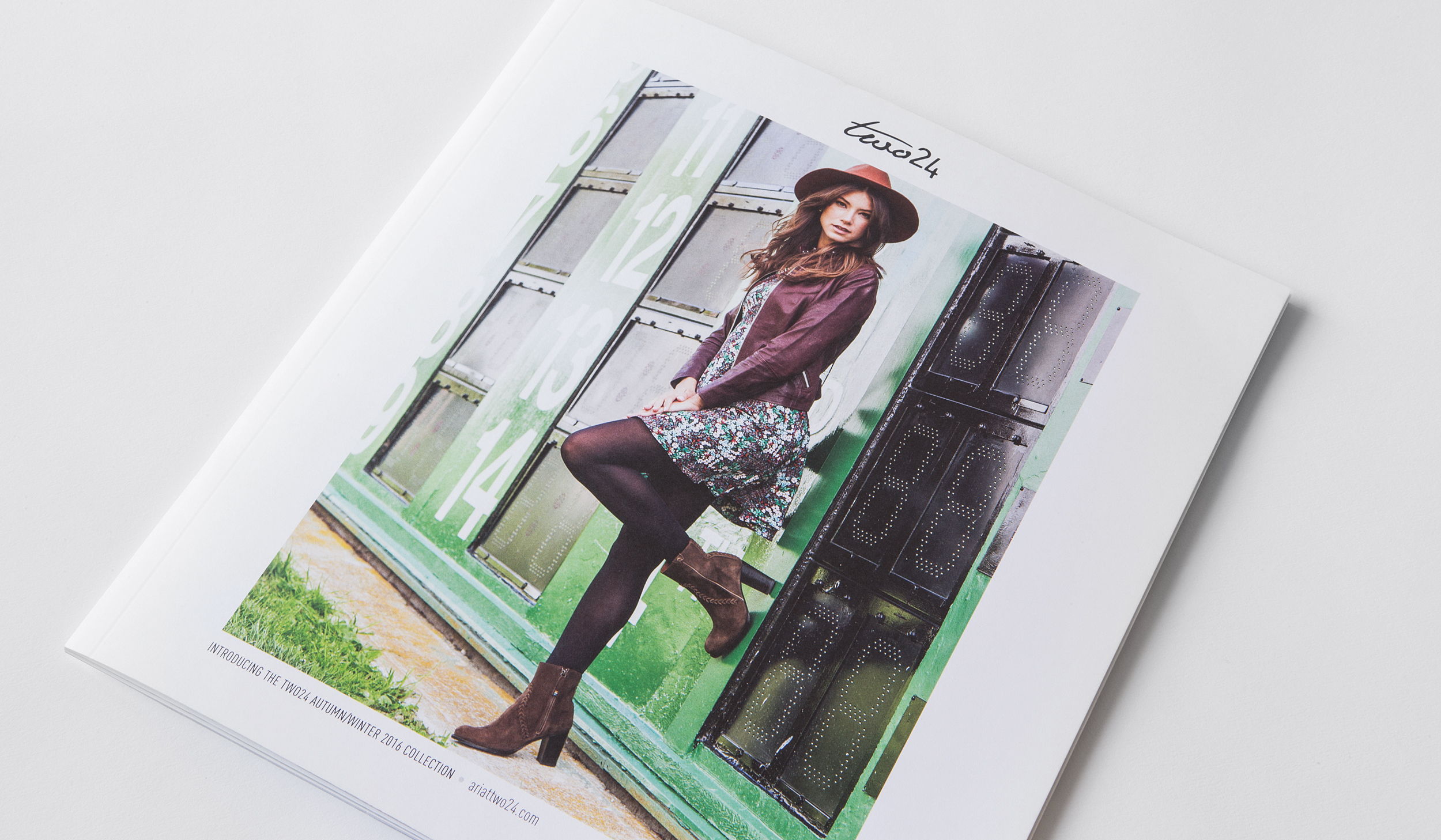 Ariat Two 24 Magazine cover with women modeling in fashionable boots