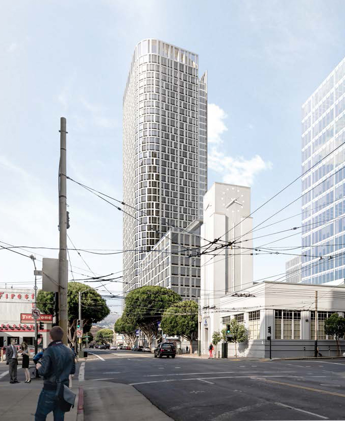 New building at 1500 Mission