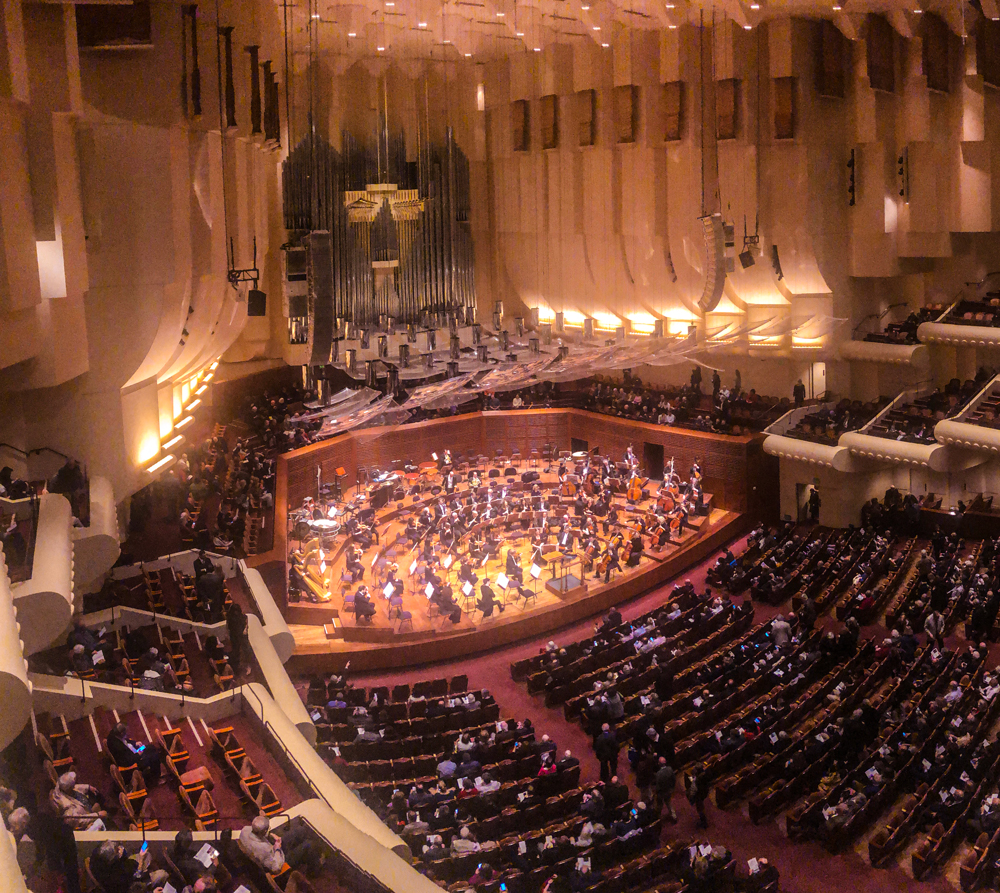 Inside San Francisco's Davies Symphony Hall