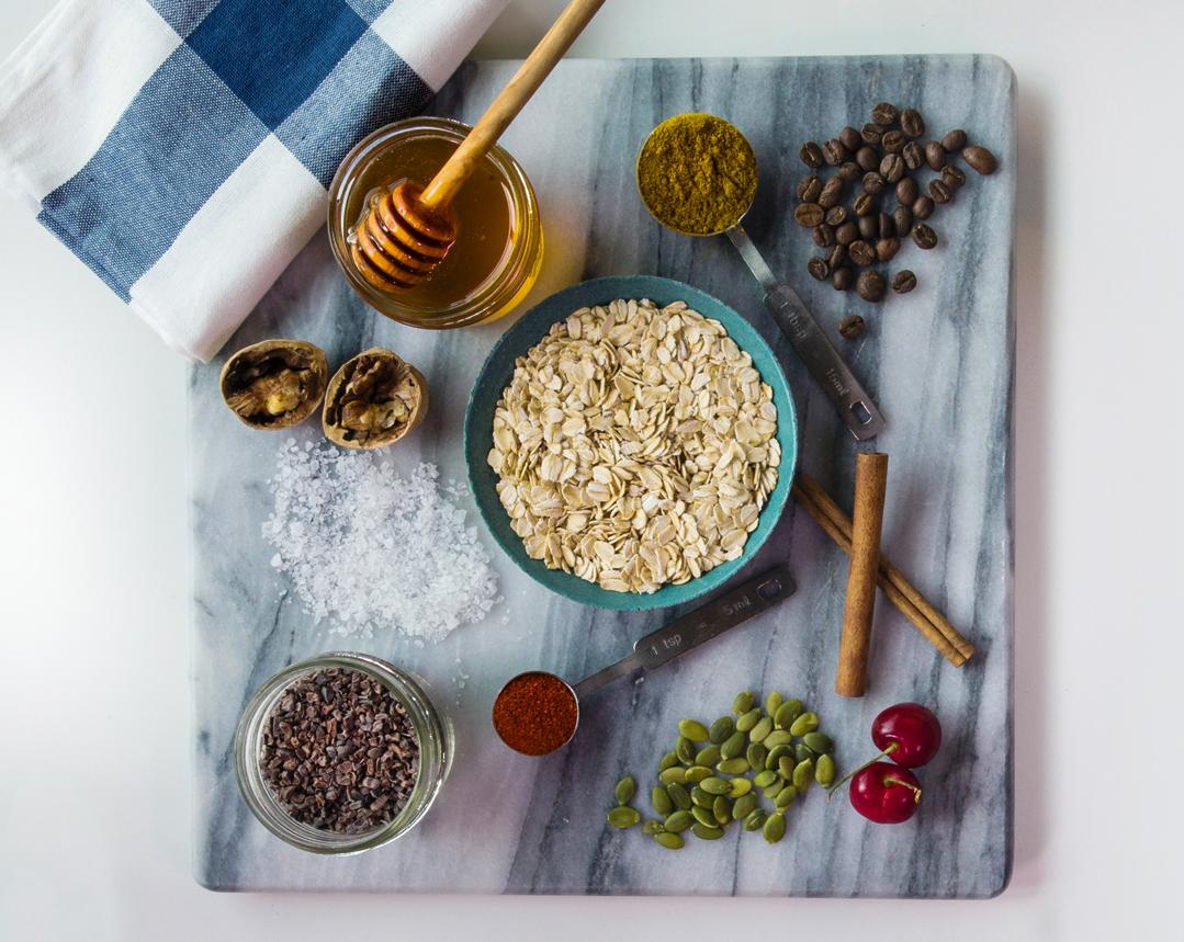 Double M Bake Shop granola ingredients