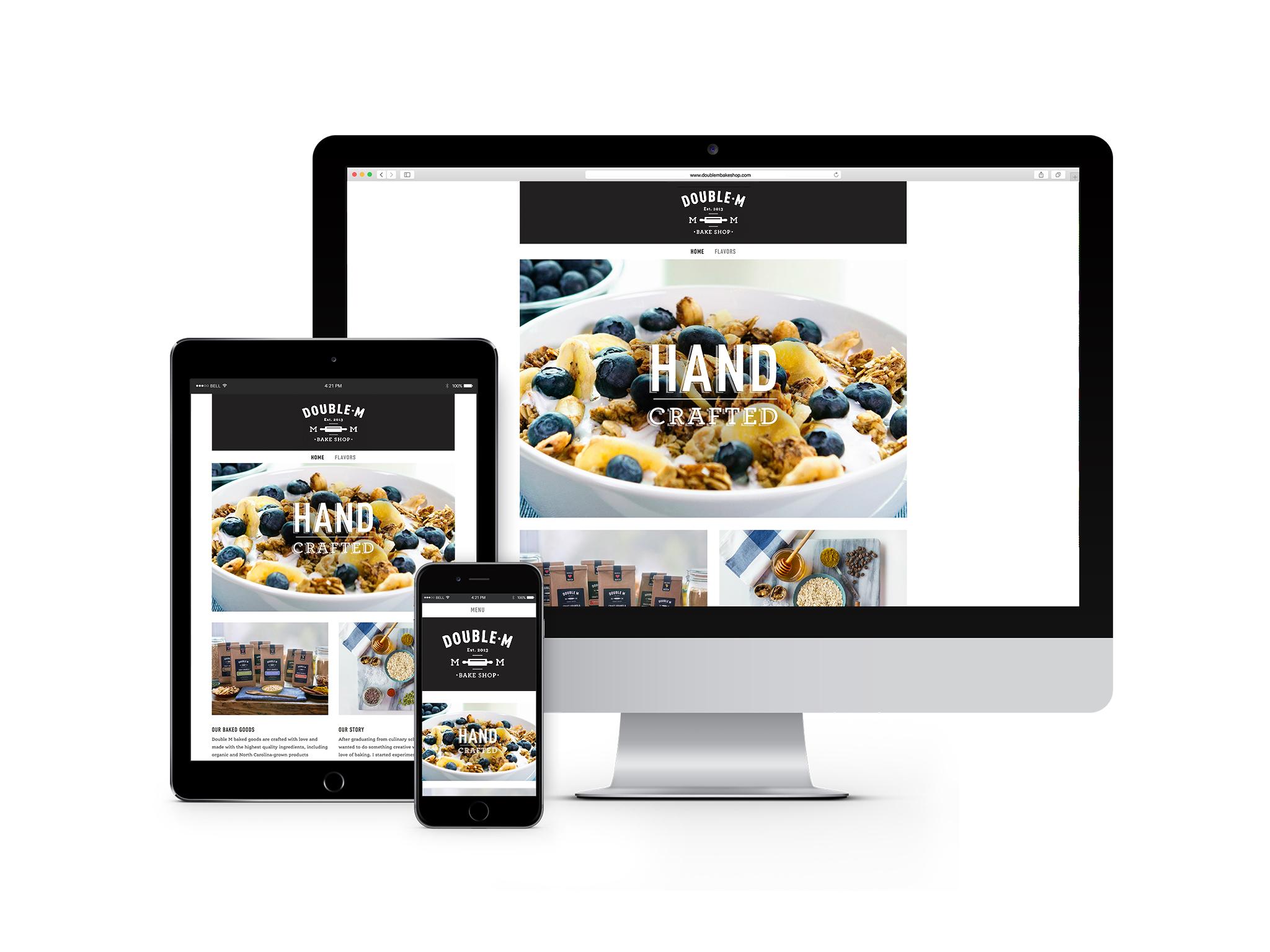 Double M Bake Shop website designs