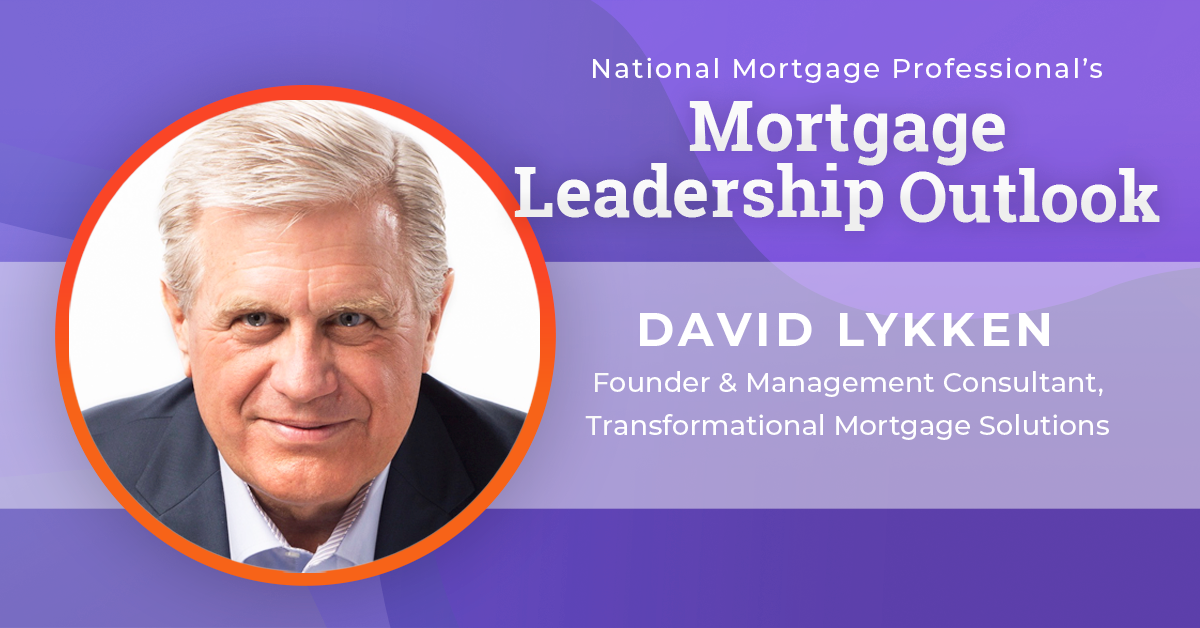 Lykken Urges Mortgage Pros To Find Competency In COVID-19 Era