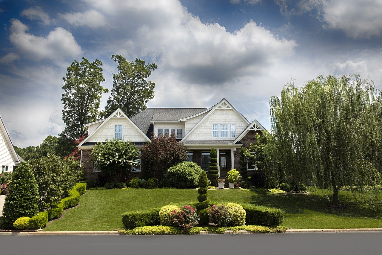 Nice suburban home.