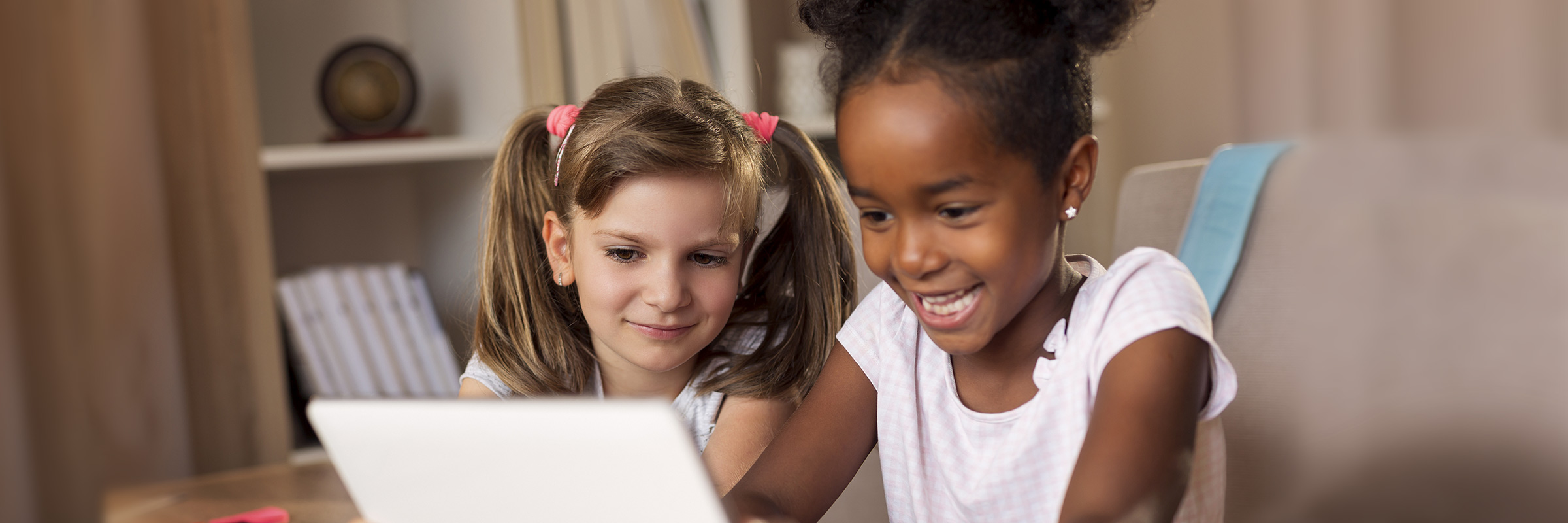Children using a laptop. Credit: Quicken Loans