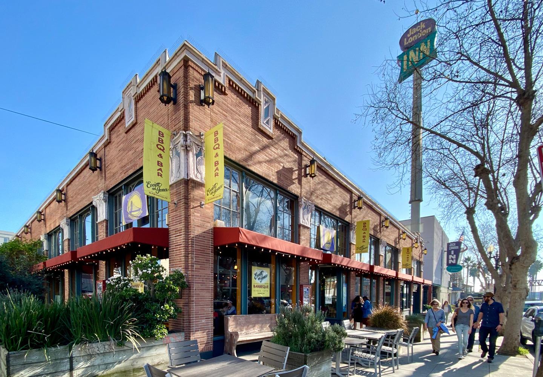 The main location for East Bay legends, Everett & Jones