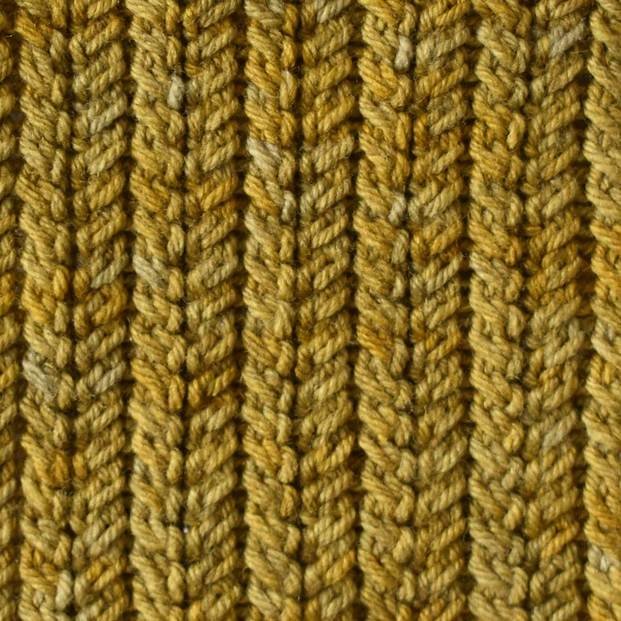 Bellish spine stitch swatch pattern