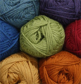 Soft, versatile (and affordable) worsted weight 100% Fine Superwash Merino Wool.