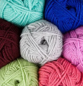 Super affordable (and soft) DK weight 100% premium acrylic (superwash)
