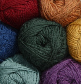 Soft, versatile (and affordable) DK weight 100% Fine Superwash Merino Wool.