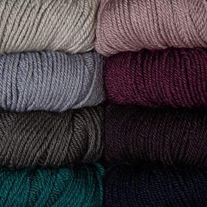 Soft and affordable DK weight 70% Merino wool, 30% Silk (handwash)