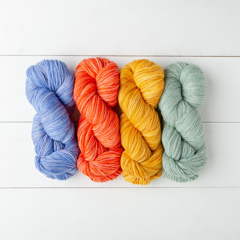 75% Fine Superwash Merino Wool, 25% Nylon, super-soft & easy0care