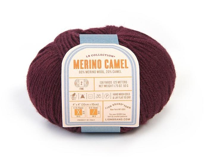 Buoyancy & stitch definition from merino, drape from camel.