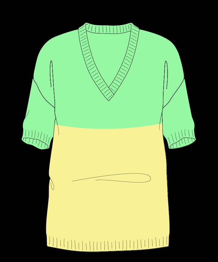 Regular fit Full length body V-neck Short sleeve Colorblock 1 Plain Plain dropshoulder worsted 30
