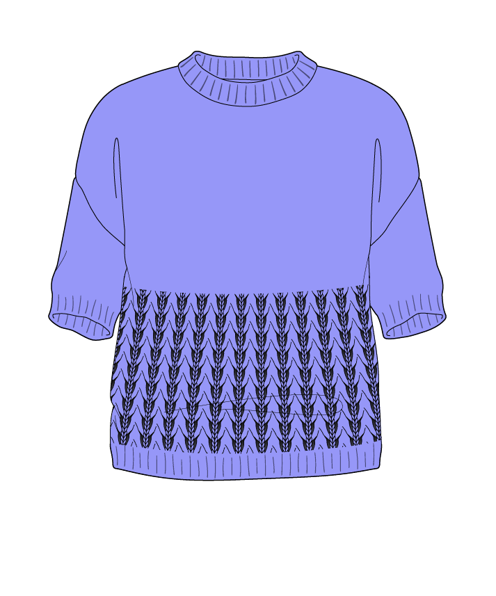 Regular fit Cropped body Crew neck Short sleeve Little fountain lace Plain Plain dropshoulder sport 50